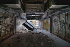 Ufficio abbandonato Fotografia Stock