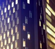 Ufficio alla notte 2 Fotografie Stock