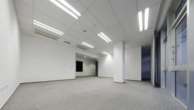 Ufficio bianco vuoto Immagini Stock Libere da Diritti