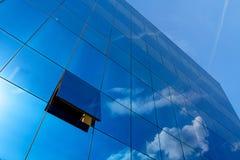 Ufficio blu Immagine Stock