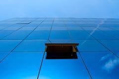 Ufficio blu Immagini Stock Libere da Diritti