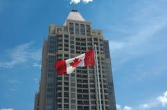 Ufficio canadese Fotografia Stock Libera da Diritti