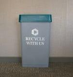 Ufficio che ricicla stazione Fotografia Stock