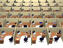 Ufficio corporativo Immagini Stock