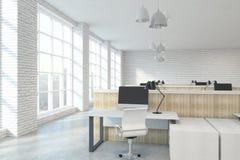 Ufficio coworking contemporaneo fotografie stock