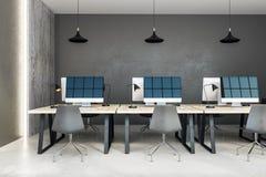 Ufficio coworking contemporaneo Immagine Stock Libera da Diritti