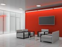 ufficio del corridoio Fotografia Stock Libera da Diritti