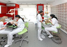 Ufficio del dentista Fotografia Stock Libera da Diritti