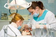 Ufficio del dentista immagine stock