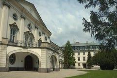 Ufficio del governo di slovak Fotografia Stock