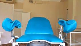 Ufficio del ` s del ginecologo in un ambulatorio archivi video