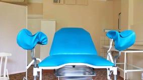 Ufficio del ` s del ginecologo in un ambulatorio video d archivio