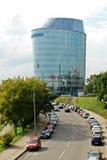 Ufficio della banca di Barclays nella città di Vilnius Fotografie Stock Libere da Diritti