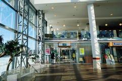 Ufficio della banca di DNB nel centro commerciale Fotografie Stock Libere da Diritti