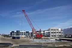 Ufficio della costruzione Fotografia Stock