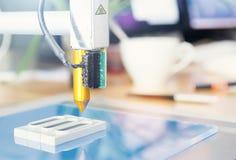 ufficio della stampante 3D Fotografia Stock Libera da Diritti