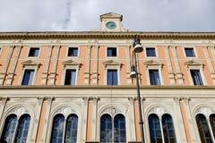 Ufficio delle poste e delle telecomunicazioni a Roma Fotografia Stock