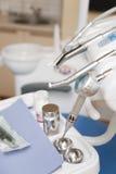 Ufficio dentario Fotografie Stock
