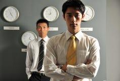 Ufficio di affari con gli orologi 67 Immagine Stock