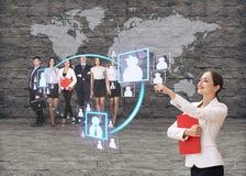 Ufficio di affari del futuro Fotografia Stock