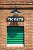 Ufficio di biglietto immagini stock libere da diritti