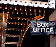 Ufficio di casella del teatro Fotografia Stock Libera da Diritti