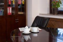 Ufficio di Coffe Immagine Stock