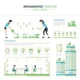 Ufficio di Eco Immagine Stock