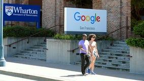 Ufficio di Google a San Francisco, U.S.A., archivi video