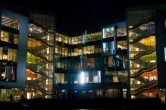 Ufficio di notte Fotografia Stock