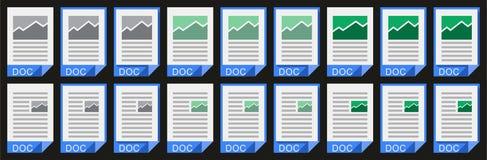 Ufficio Doc_02 Immagini Stock