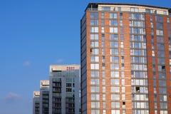 Ufficio e palazzine di appartamenti moderni Immagine Stock