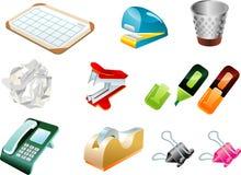 Ufficio Equipements Fotografia Stock