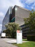 Ufficio europeo dei brevetti, EPO, in Rijswijk i Paesi Bassi fotografia stock libera da diritti