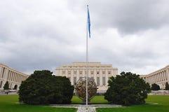Ufficio Ginevra dell'ONU Immagini Stock