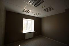 Ufficio interno, costruzioni moderne Immagine Stock Libera da Diritti