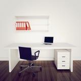 Ufficio interno moderno Fotografia Stock Libera da Diritti