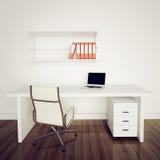 Ufficio interno moderno Immagini Stock
