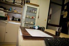 Ufficio medico Fotografia Stock Libera da Diritti