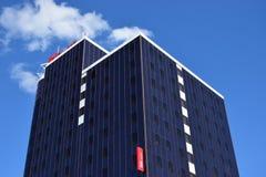 Ufficio moderno che bulding a Astana Immagini Stock Libere da Diritti