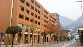 Ufficio Moderno Lugano : Città di lugano montagna di san salvatore e lago lugano da monte