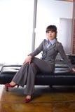 Ufficio moderno della donna di affari Fotografia Stock Libera da Diritti