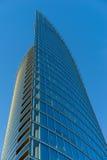 Ufficio moderno di affari del grattacielo, costruzione del cielo Fotografia Stock