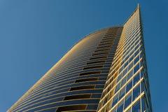 Ufficio moderno di affari del grattacielo, costruzione del cielo Immagini Stock