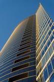 Ufficio moderno di affari del grattacielo, costruzione del cielo Fotografia Stock Libera da Diritti
