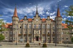 Ufficio municipale in Walbrzych Fotografia Stock