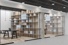 Ufficio o biblioteca contemporaneo royalty illustrazione gratis