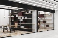 Ufficio o biblioteca moderno Illustrazione di Stock