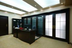 Ufficio ordinato dell'azienda Immagine Stock