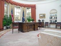 Ufficio ovale Fotografia Stock Libera da Diritti